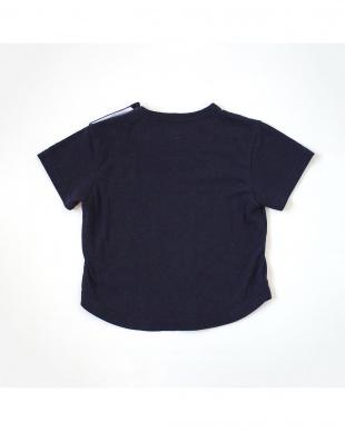 ダークネイビー Hommage シルクコットンTシャツを見る