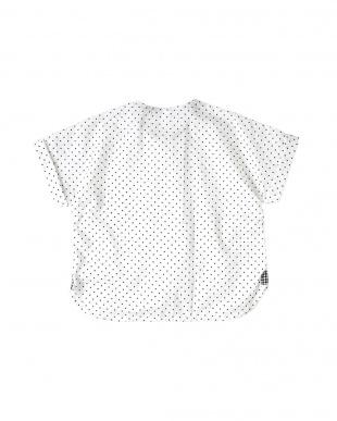 ドット 10mois ドロップスリーブシャツを見る