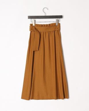 カーキ ベルトスカートを見る