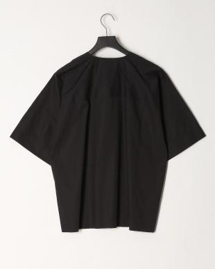 ブラック  5分袖ワイドブラウスを見る