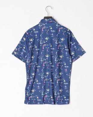 NVY ハンソデ シャツ ガラを見る