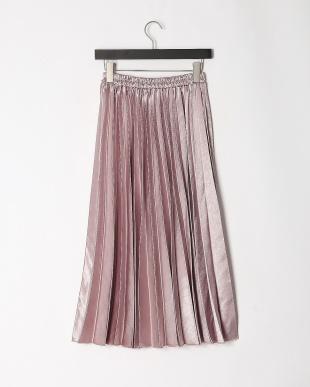 ピンク シャイニープリーツ3WAYスカートを見る
