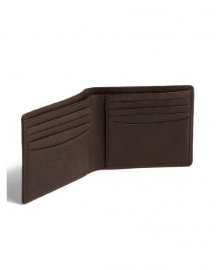 チョコ カーフレザー 二つ折り財布を見る