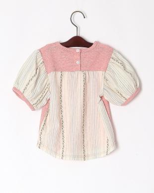 ピンク 半袖シャツを見る