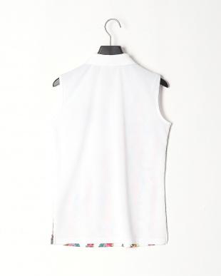 ホワイト Lノースリーブシャツを見る