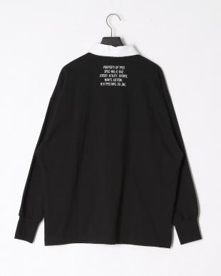 ブラック ラガーシャツを見る