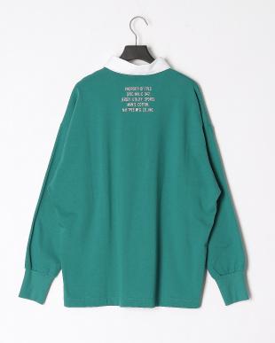 グリーン ラガーシャツを見る