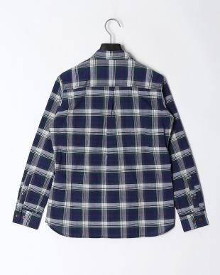 ネイビー 【-3度】ワッシャーシャツを見る