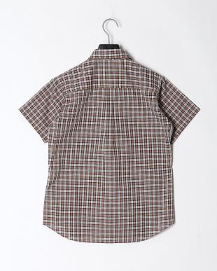 ブラウン TSタイニーチェックシャツS/Sを見る