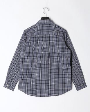 ブルー 【スコーロン】【防虫】グレンチェックシャツを見る