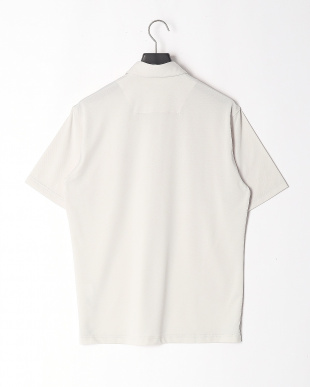 ライトグレー ミニメッシュボタンダウンポロシャツを見る