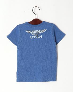 ブルー ティラノサウルスプリントTシャツを見る