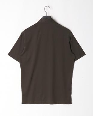 カーキ ミニメッシュボタンダウンポロシャツを見る