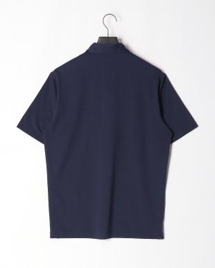 ネイビー ミニメッシュボタンダウンポロシャツを見る
