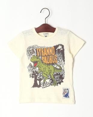 オフホワイト ティラノサウルスプリントTシャツを見る