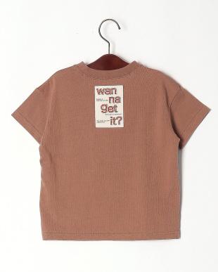ブラウン デニムポケットBIG Tシャツを見る
