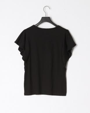 ブラック シルスムースフレアスリーブTシャツを見る