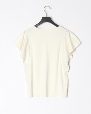 オフホワイト シルスムースフレアスリーブTシャツを見る
