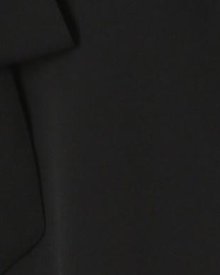 ブラック フロントリボン ノースリーブストレッチブラウスを見る