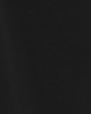 ブラック 胸元ギャザー ストレッチノースリーブトップスを見る