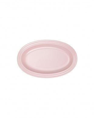 サテンピンク オーバル・プレート 20cm 2色セットを見る