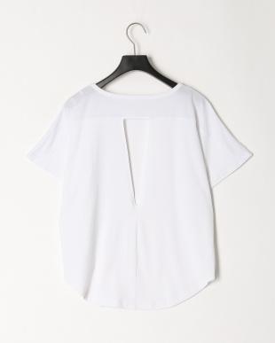 ホワイト タテロゴプリントTシャツを見る
