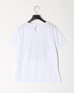 ホワイト レタリングロゴTシャツを見る