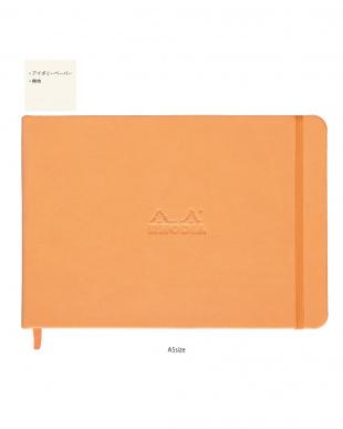 オレンジ ロディア ハードカバーノート3冊セット(横罫&無地)を見る