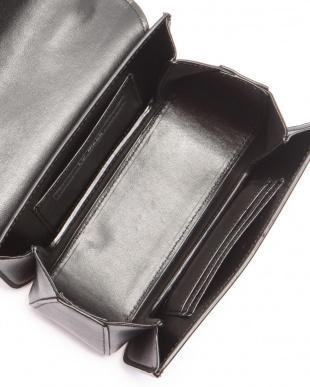 ブラック ゴールドハンドルミニバッグを見る