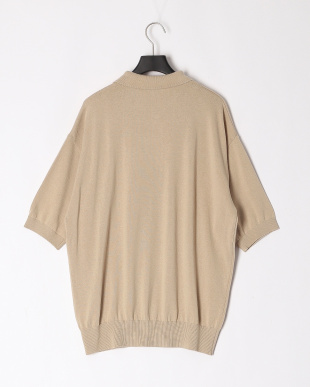 BEIGE ALL TIME KNIT SS POLOを見る