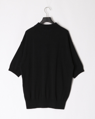 BLACK ALL TIME KNIT SS POLOを見る