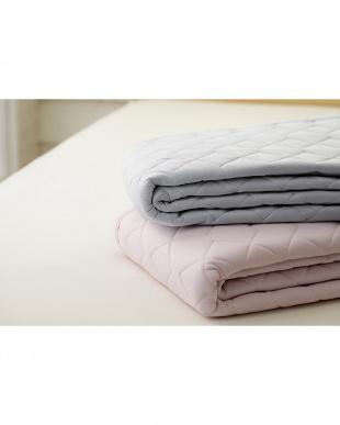 ピンク 東京西川の接触冷感寝具 クールパッドシーツを見る