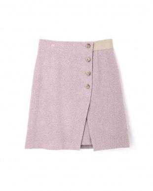 PINK エレノアラップ風スカート ジルスチュアートライセンスを見る