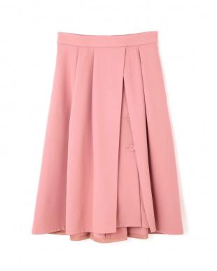 PINK アリサラップ風カラースカート ジルスチュアートライセンスを見る