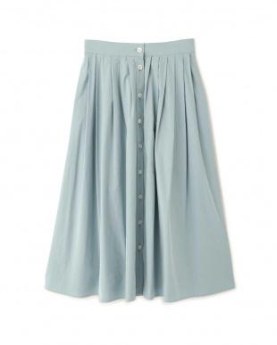 ブルー ◆ライトナイロンラップスカート アドーアを見る