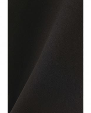 ブラック ◆トリプルクロスノーカラージャケット アドーアを見る