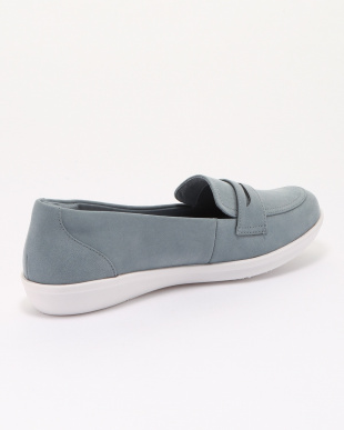 Blue Grey Synthetic Nubuck Ayla Formを見る