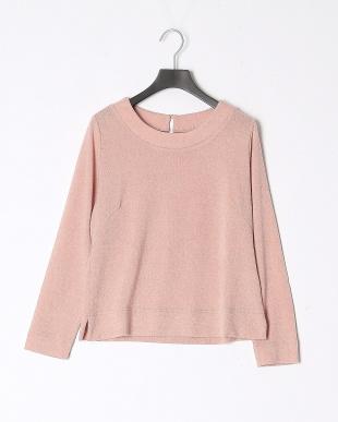 12/赤系C(ピンク) AN マシュマロタッチ 裾フリル付プルオーバーを見る