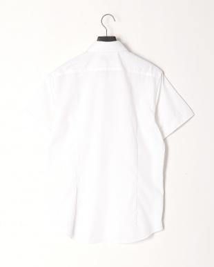 ホワイト カジュアルシャツを見る