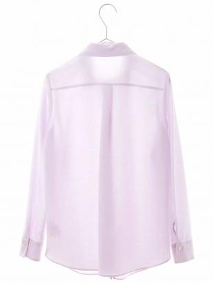 ピンク 【洗える】【日本製】ベーシックシャツブラウス GEORGES RECHを見る