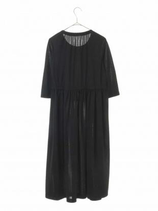ブラック 【洗える・日本製】レイヤードデザインドレス GIANNI LO GIUDICEを見る
