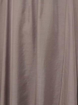 パープル 【洗濯機で洗える】シアーマキシスカート MK MICHEL KLEINを見る