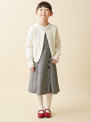グレー [100-130]クラシカルナロージャンパースカート[WEB限定サイズ] a.v.v bout de chouを見る