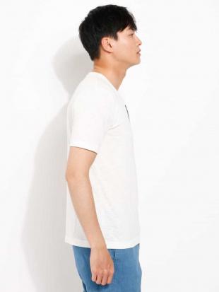 ホワイト メガネ刺繍カットソー[WEB限定サイズ] a.v.v HOMMEを見る