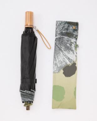 グリーン UNI003遮光晴雨兼用折りたたみ傘 ドット柄を見る