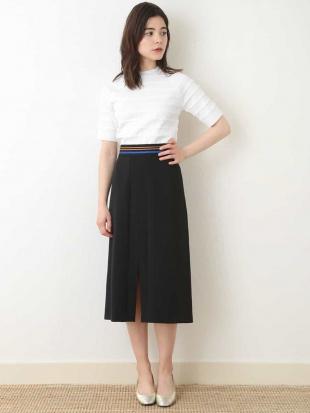 ブルー デザインタイトスカート【洗える】 TARA JARMONを見る
