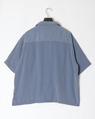 サックス ポリエステルBIGポケットシャツを見る