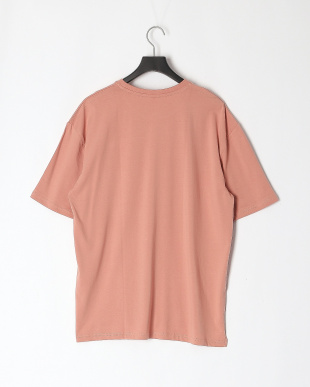 ピンク 16/-天竺ルーズTシャツを見る