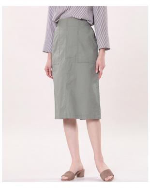 オフホワイト1 カジュアルタイトスカート I.T.'S. internationalを見る