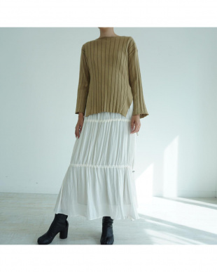 BEIGE UVCUT BAMBOO KNIT PULLOVERを見る